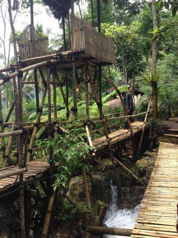 Taman Air Sungai Mudal, Girimulyo, Kulon Progo